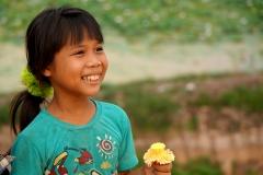 Pocahontas girl in Chong Knies - Esmeralda Groen
