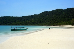 Going back home after a day of fishing - Koh Rong Samloem - Esmeralda Groen