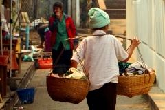 Local woman in Luang Prabang, Laos - Esmeralda Groen
