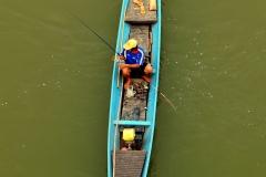 Local fisherman in Luang Prabang, Laos - Esmeralda Groen